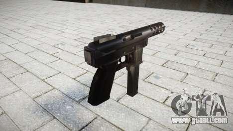 Self-loading pistol Intratec TEC-DC9 for GTA 4 second screenshot