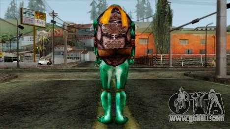Mike (Ninja Turtles) for GTA San Andreas second screenshot