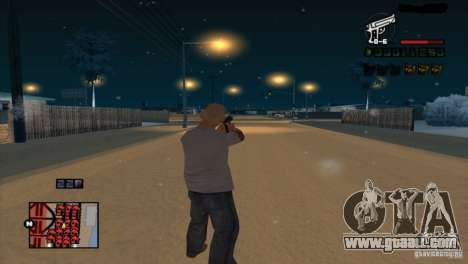 C-HUD Brendi for GTA San Andreas forth screenshot