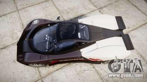 Pagani Zonda C12 S 7.3 2002 PJ3 for GTA 4 right view