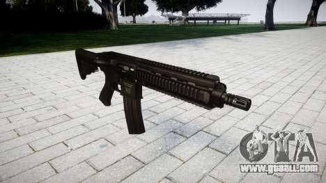 Machine HK416 for GTA 4