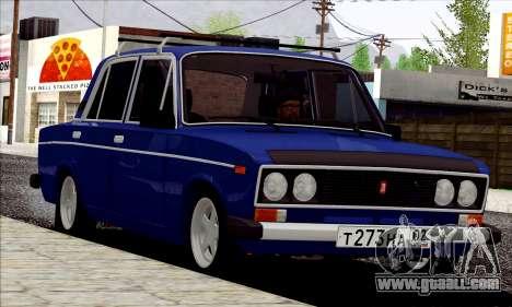 ВАЗ 2106 Russian style for GTA San Andreas