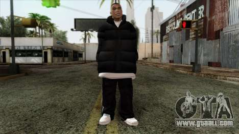 GTA 4 Skin 1 for GTA San Andreas