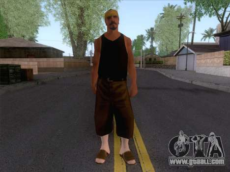 New Ballas Skin 2 for GTA San Andreas