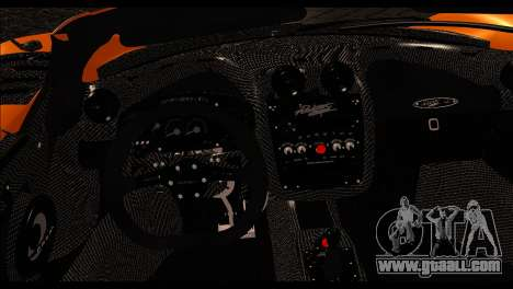 Pagani Zonda Cinque Roadster for GTA San Andreas back left view