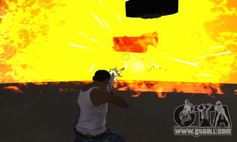 Yellow Effects for GTA San Andreas forth screenshot