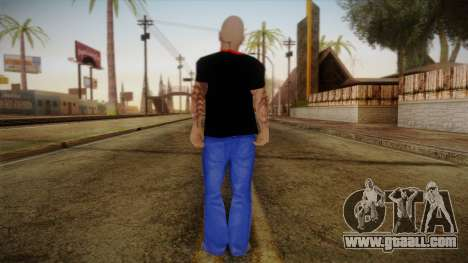 Phil Anselmo Skin for GTA San Andreas second screenshot
