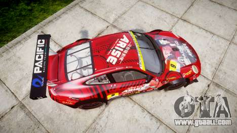 Porsche 911 Super GT 2013 for GTA 4 right view