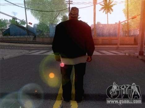 New Ballas Skin 1 for GTA San Andreas second screenshot