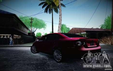 Volkswagen Bora GLI 2010 for GTA San Andreas