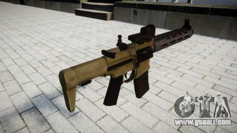 Assault rifle AAC Honey Badger for GTA 4 second screenshot