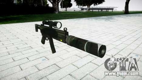 Tactical submachine gun MP5 for GTA 4