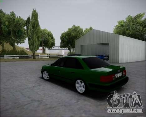 Audi 100 C4 1994 for GTA San Andreas left view