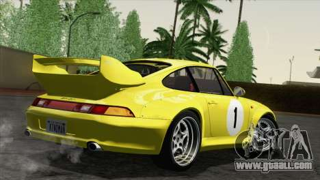 Porsche 911 GT2 (993) 1995 [HQLM] for GTA San Andreas side view