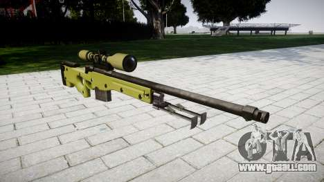 Sniper rifle AWP for GTA 4
