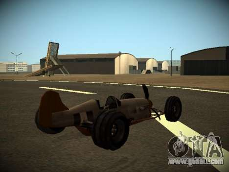 Rustler Rod Beta for GTA San Andreas left view