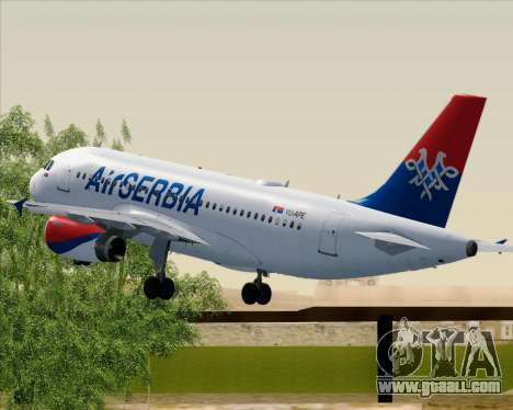 Airbus A319-100 Air Serbia for GTA San Andreas