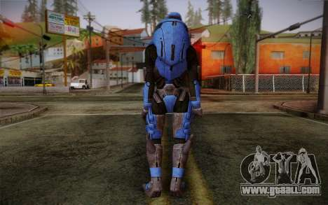 Garrus Helmet from Mass Effect 2 for GTA San Andreas second screenshot