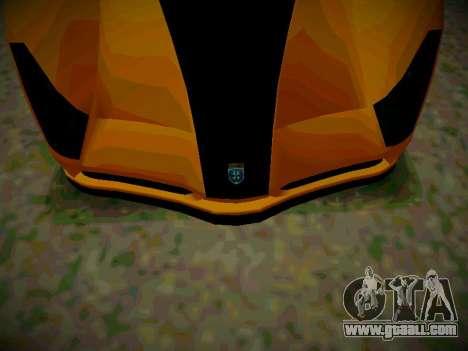Cheetah из GTA 5 for GTA San Andreas back left view