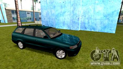 Daewoo Nubira I Wagon CDX US 1999 for GTA San Andreas back view