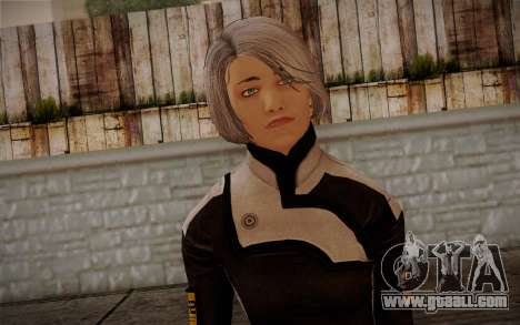 Karin Chakwas from Mass Effect for GTA San Andreas third screenshot