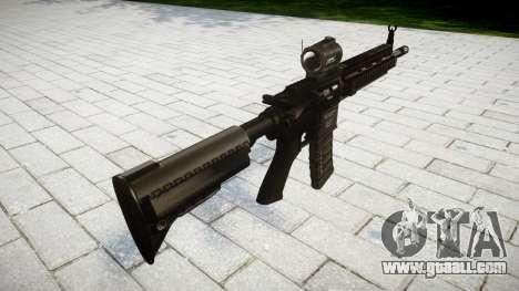 Machine HK416 AR for GTA 4 second screenshot