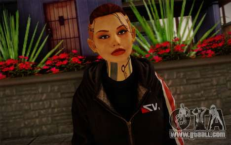 Jack Hood from Mass Effect 3 for GTA San Andreas third screenshot