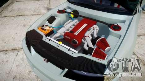 Nissan Skyline GT R33 1996 Sharpie for GTA 4 inner view
