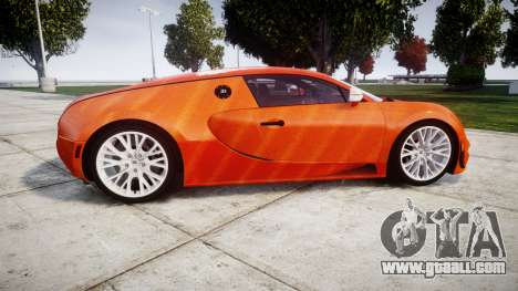 Bugatti Veyron 16.4 SS [EPM] Halloween Special for GTA 4 left view