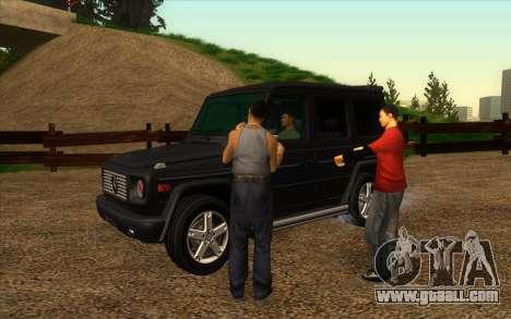 Road garage of Sigea for GTA San Andreas