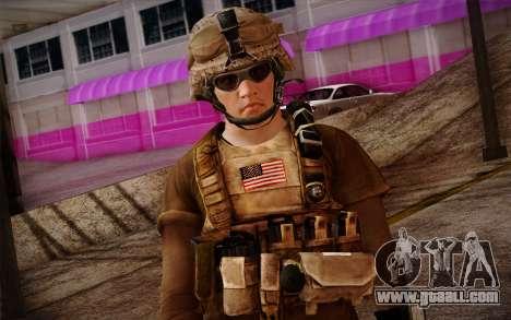 Brady from Battlefield 3 for GTA San Andreas third screenshot