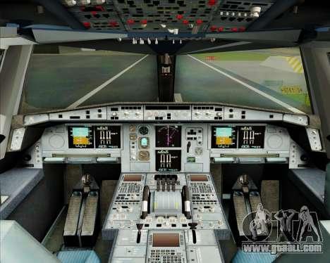 Airbus A380-800 Garuda Indonesia for GTA San Andreas interior