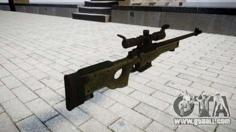 Винтовка Accuracy International L96A1 for GTA 4 second screenshot