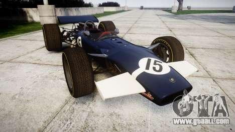 Lotus Type 49 1967 [RIV] PJ15-16 for GTA 4