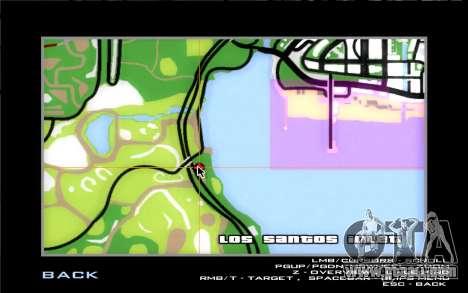 Road garage of Sigea for GTA San Andreas seventh screenshot