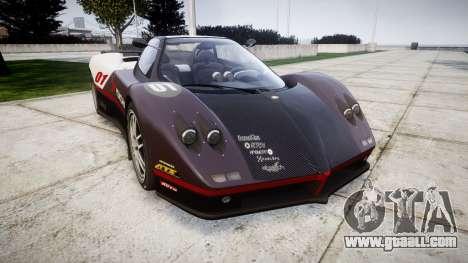 Pagani Zonda C12 S 7.3 2002 PJ3 for GTA 4