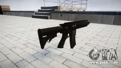 Machine HK416 for GTA 4 second screenshot