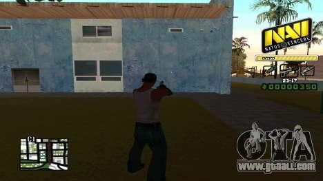 C-HUD NaVi for GTA San Andreas second screenshot