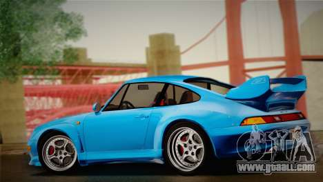 Porsche 911 GT2 (993) 1995 for GTA San Andreas back view