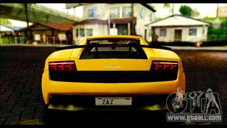Lamborghini Gallardo LP 570-4 for GTA San Andreas right view