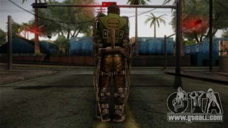 Army Exoskeleton for GTA San Andreas second screenshot