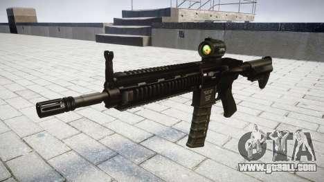 Machine HK416 AR target for GTA 4