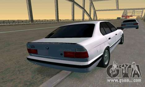 BMW 525 Turbo for GTA San Andreas left view