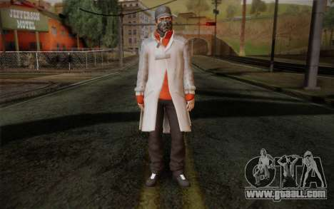 Aiden Pearce from Watch Dogs v1 for GTA San Andreas