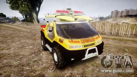 Ford Intruder Lifeguard Beach [ELS] for GTA 4