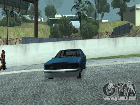 Beta Elegant for GTA San Andreas back view