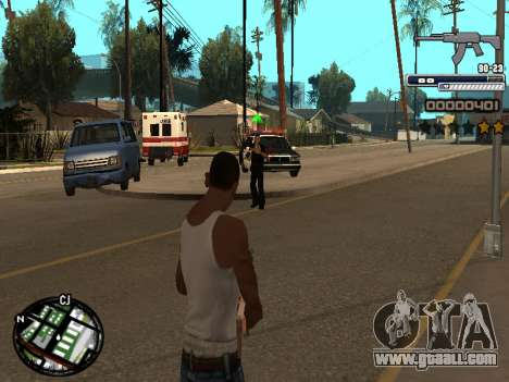 CLEO HUD Spiceman for GTA San Andreas second screenshot