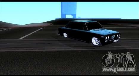 VAZ 2106 Chernysh for GTA San Andreas left view