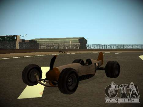 Rustler Rod Beta for GTA San Andreas