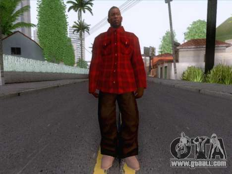 New Fam Skin 1 for GTA San Andreas